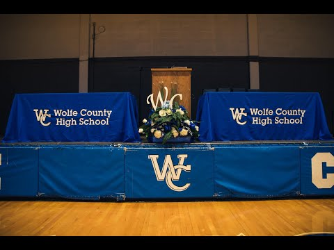 2020 Wolfe County High School Senior Graduation Ceremony
