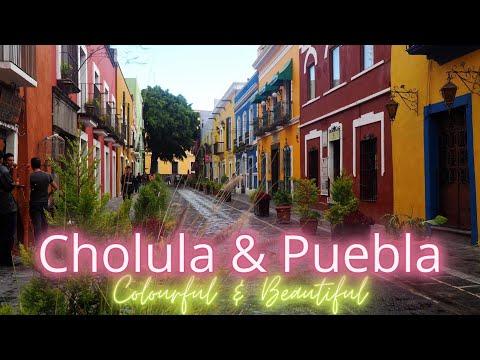 So colourful: PUEBLA and CHOLULA - Drone Shots