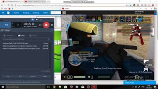 ROBLOX CR BO (Playing with my friend)