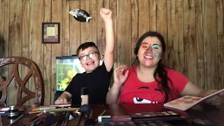 My 6 year old son does my make up !!!