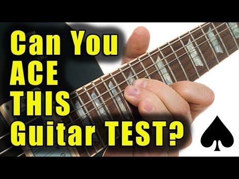 are you smart enough to ace this guitar test? (eleven questions)