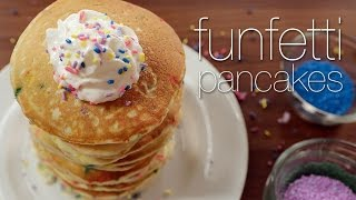Funfetti Pancakes Worth Waking Up For...
