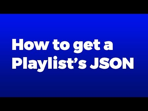 How to get a JSON feed of a Youtube Playlist