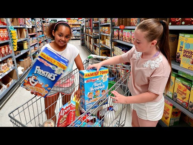TIANAS  WEEKLY GROCERY SHOPPING CHALLENGE!!