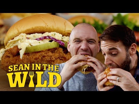 Shake Shack's New Spicy Chicken Sandwich SNEAK PEEK | Sean in the Wild