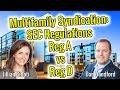 Multifamily Syndication - SEC Regulations on Reg A vs Reg D