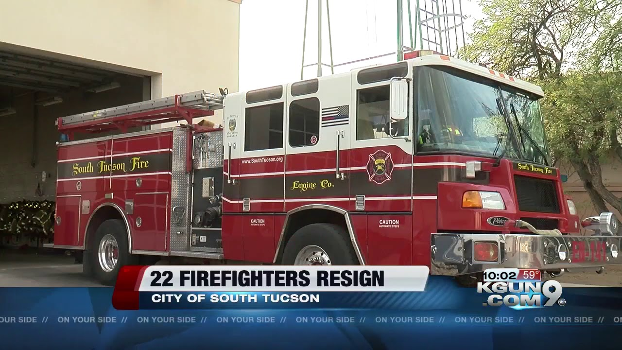 Twenty two city of south tucson firefighters resign after budget cut twenty two city of south tucson firefighters resign after budget cut concerns publicscrutiny Gallery