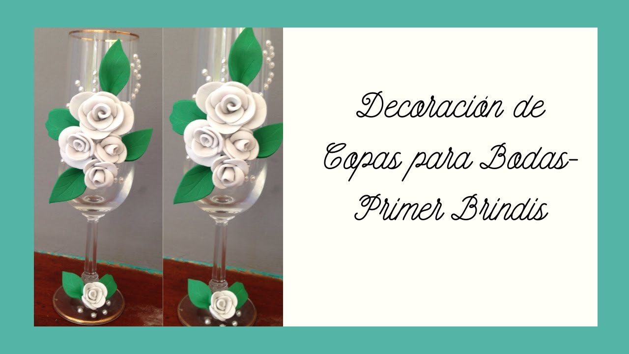 Decoraci n para copas de boda decoration for wedding for Decoracion bodas