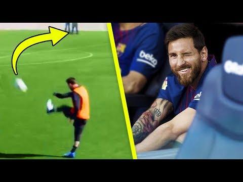 12 unmögliche und freche Dinge, die nur Lionel Messi tun kann