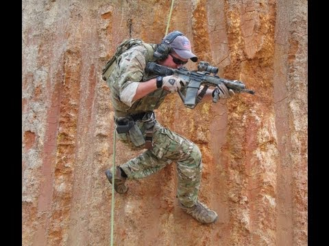 Live Fire Rappelling