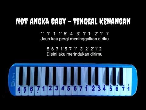 Not Pianika Gaby - Tinggal Kenangan