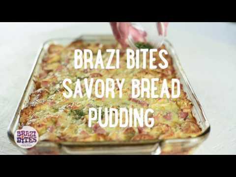 Brazi Bites Savory Bread Pudding Recipe