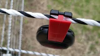 Electric Fence Alert Keeps Animals in the Fence