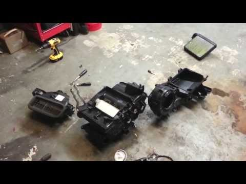 HOW TO 2008 2010 Ford Focus Evaporator Case Breakdown