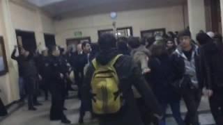 İstanbul Üniversitesi'nde Fidel'i anmak isteyen öğrencilere saldırı