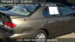 1999 Infiniti G20 Touring 4dr Sedan for sale in VACAVILLE C
