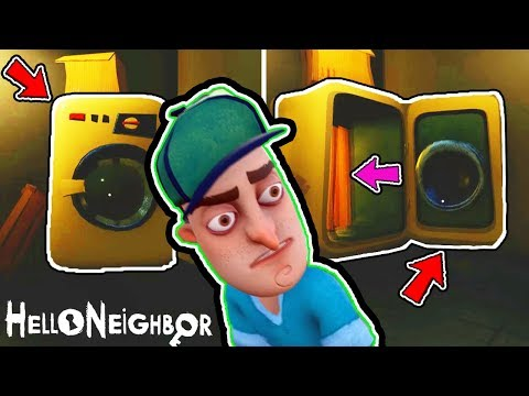 THE SECRET DOOR IN THE BASEMENT? PLAY AS A KID & KIDNAPPING NEIGHBOR? Hello Neighbor Final Full Game