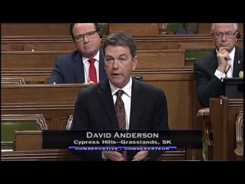 David Anderson, MP speaks on  M-103