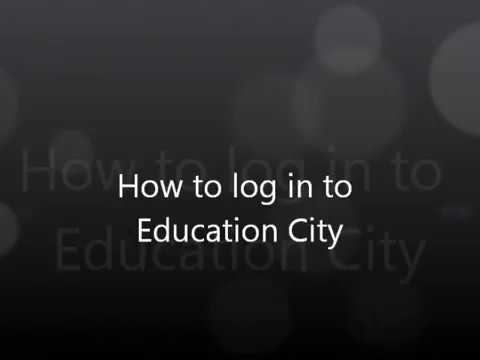 Logging in to Education City