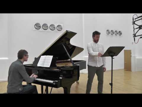 Simon Wallfisch and Edward Rushton perform Caplet's 'Le loup et l'agneau'