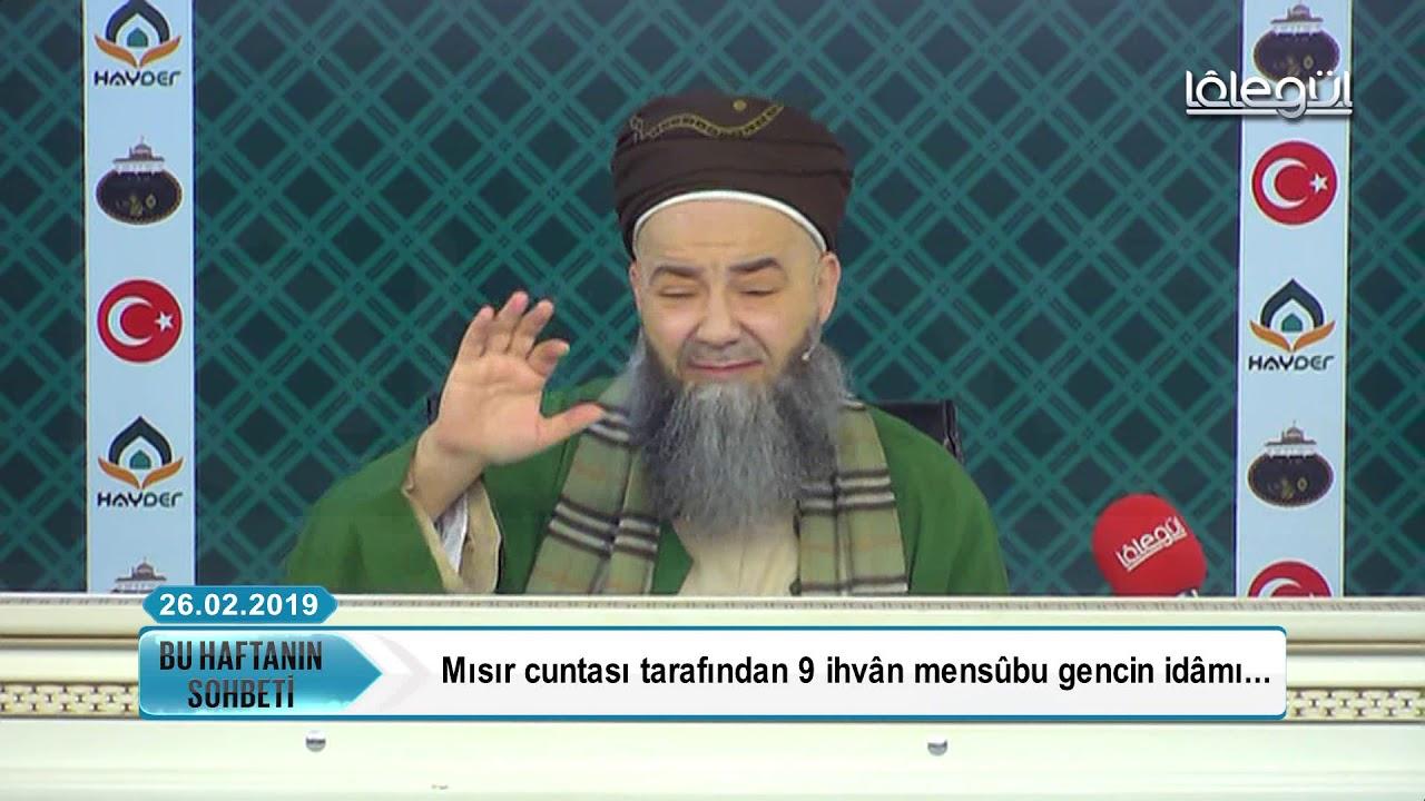 26 Şubat 2019 Tarihli Bu Haftanın Sohbeti - Cübbeli Ahmet Hocaefendi Lâlegül TV