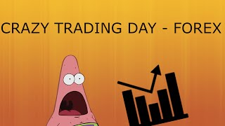 CRAZY TRADING DAY - Trading 212 Forex Trading #17