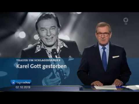 Karel Gott Gestorben - Tagesschau 02.10.2019 + Auftritt 1994