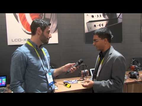 Audeze EL-8 headphones and Deckard amplifier | CES 2015 First Look | Crutchfield video