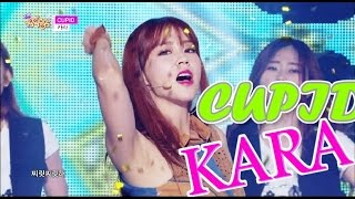 [HOT] KARA - CUPID, 카라 - 큐피트, Show Music core 20150613