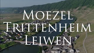 De Moezel bij Trittenheim en Leiwen.
