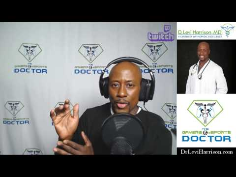 Twitch.tv Stream | Gamer's Health Education  | Gaming & Health Q & A