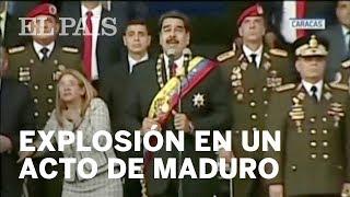 NICOLÁS MADURO | Una explosión interrumpe un discurso del presidente de Venezuela | Internacional