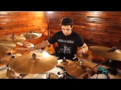 Jessé - Toque no Altar - Sobre as Águas (Drum Cover em HD) music