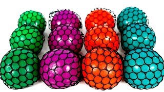 Learn Colors with Squishy Mesh Balls