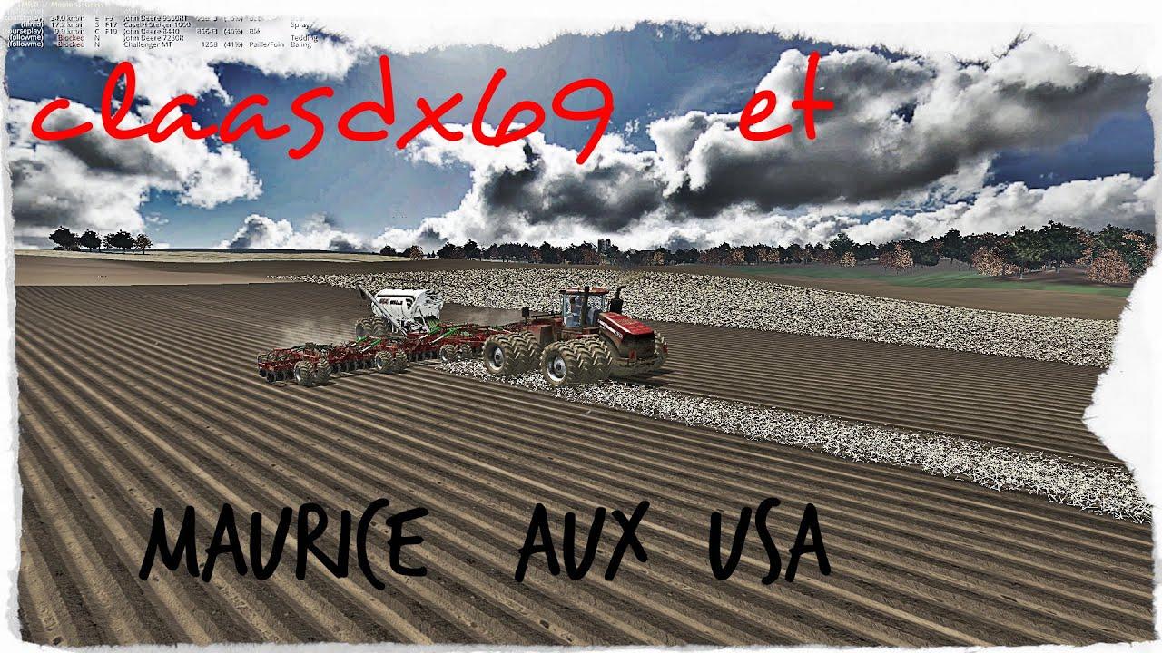 Fs Claasdx Et Maurice Aux Usa YouTube - Fs15 us maps