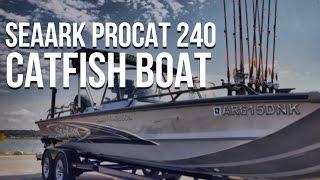 SeaArk ProCat 240 Catfish Boat: The Ultimate Catfish RigCatfish Edge