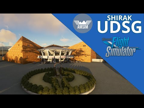 MSFS2020 Shirak International Airport. Gyumri, Armenia (UDSG) /AmSim/