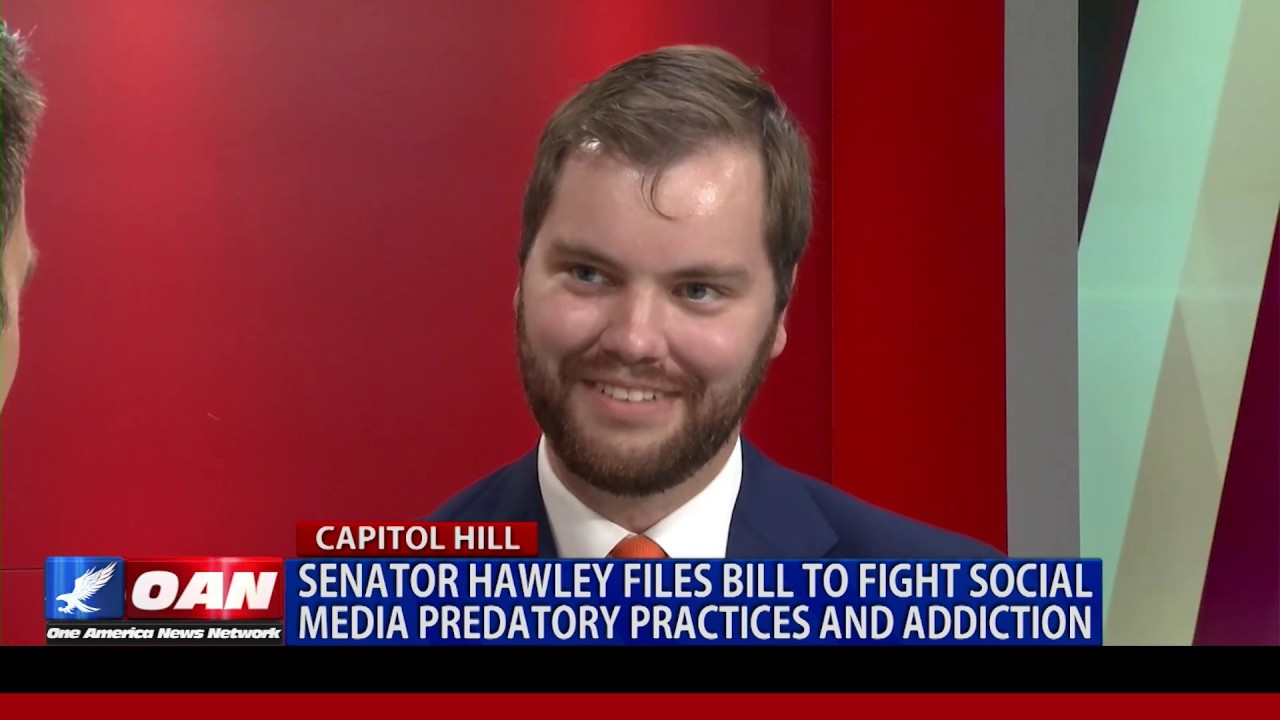 OAN Sen. Hawley files bill to fight social media predatory practices and addiction