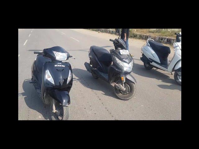 Honda Activa vs TVS Jupiter Honda Deo compare hindi