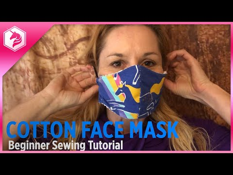 sew-a-cotton-face-mask---easy-tutorial-#adafruit-#covid19-#facemask