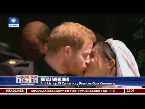 Prince Harry & Meghan Now Duke & Duchess Of Sussex After Royal Wedding