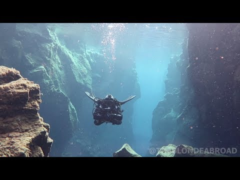 Diving Silfra in Iceland with The Blonde Abroad