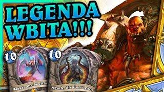 Legenda wbita!! - Hakkar N'Zoth Warrior #4 by TheoHS - Hearthstone Deck (Doom in the Tomb)