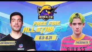 🔴ENVIVO🔴THE DONATO vs YAIR17 vs BOOMSNIPER vs ARTURO R15 FREE FIRE ALL STAR S3🔥