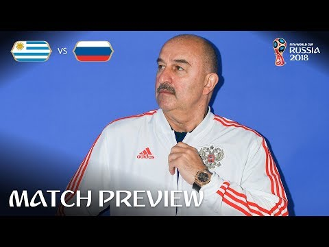 Stanislav Cherchesov (Russia) - Match 33 Preview - 2018 FIFA World Cup™