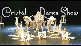 Crystal Show dance - элегантный детский танец с боа и веерами с перьями   настоящее танцевальное шо