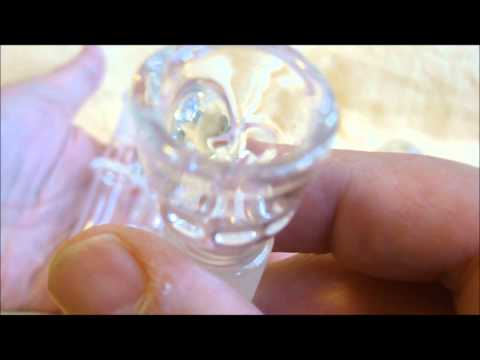 420 PARADISE - HEADFORD DISK DIFFUSER BUBBLER - Marijuana Weed BHO Hash - TheRealCandyMan