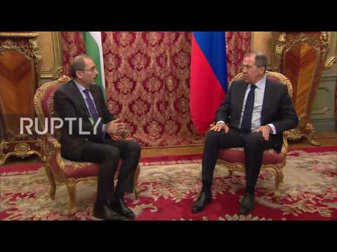 Russia: Jordanian FM and Lavrov discuss UN-led resolution to Syria crisis