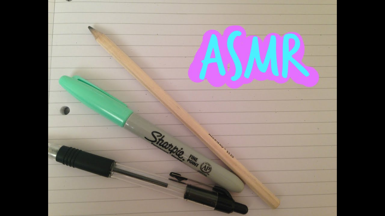 Asmr Drawing And Whispering Writing Sounds