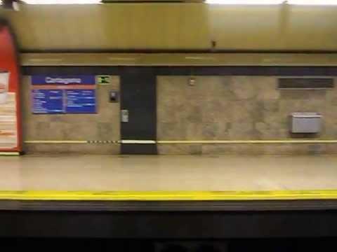 Metro de Madrid - Línea 7 - Cartagena - Avenida de America